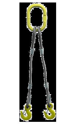 Строп канатный двухветьевой 2СК