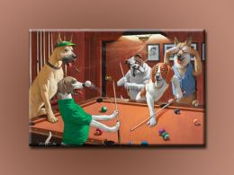 Собаки и бильярд