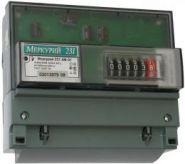 Электросчетчик Меркурий-231 5-60А 220/380В Кл.т.1,0 1тариф Акт. на DIN рейку мех.