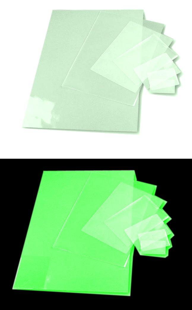 Светящаяся бумага картон Лист люминофорный