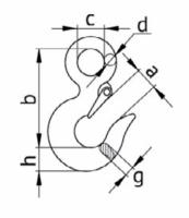 Крюк чалочный 320А