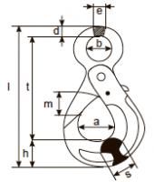 Крюк безопасный самозапирающийся (VAK)