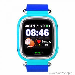 Детские умные смарт часы q90 (gw100) с GPS трекером Smart Baby Watch + ПОДАРОК