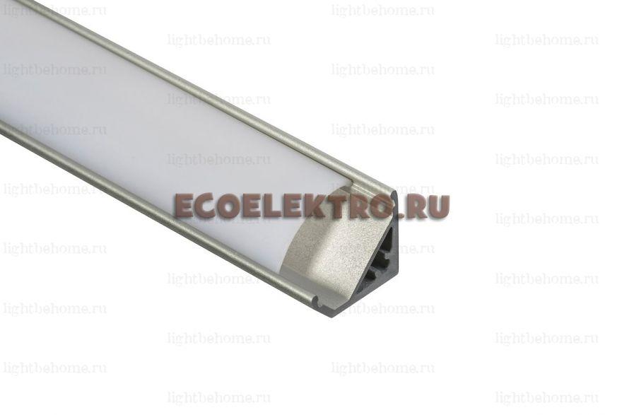 Угловой алюминиевый LED профиль ANP314