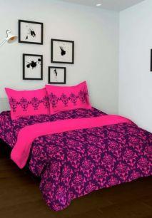 Фиолетовый с розовым комплект для спальни (под заказ)