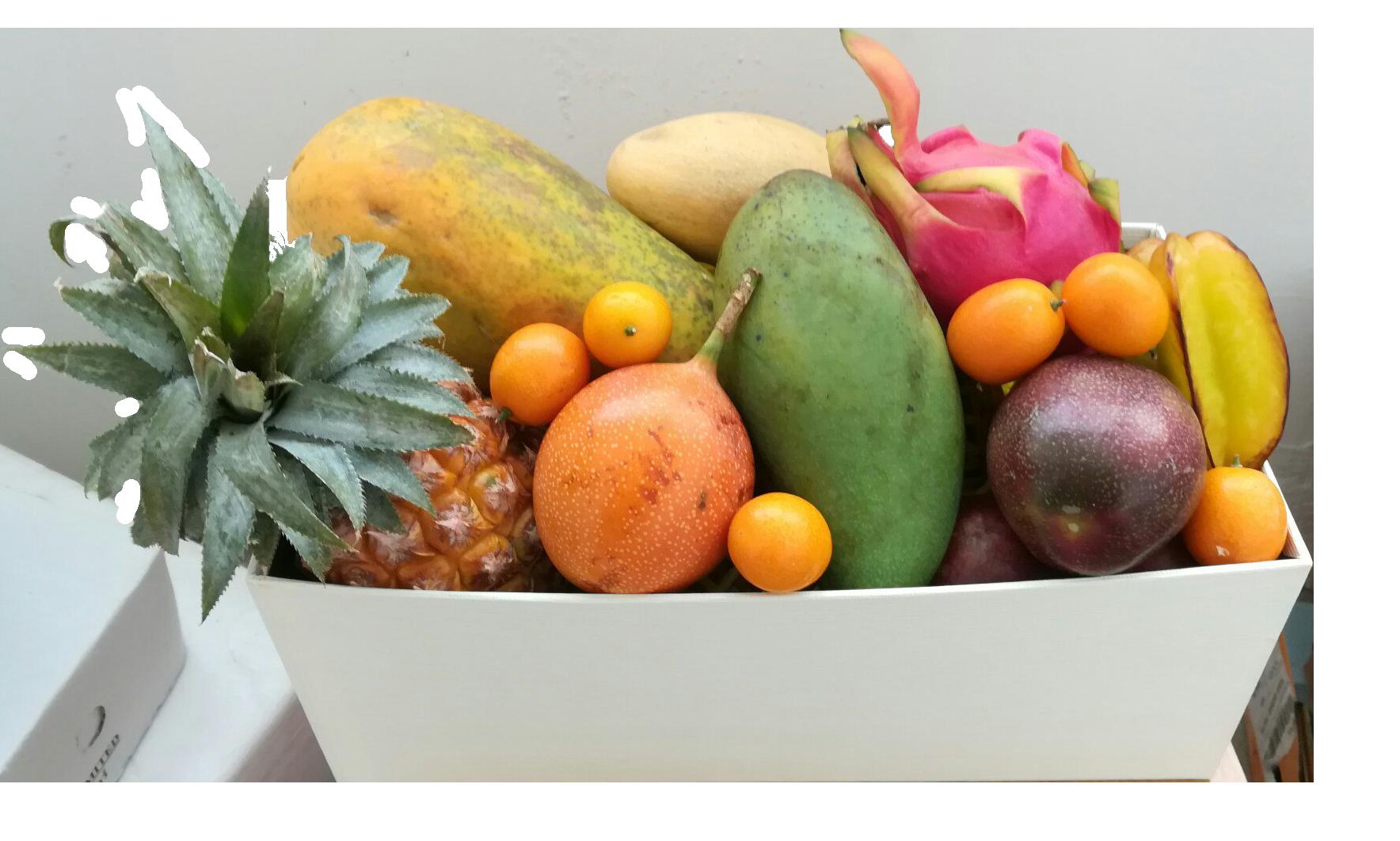 Набор экзотических фруктов подарок 68