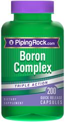 Бор (аспартат. глицинат, цитрат)3 мг    200 капс.