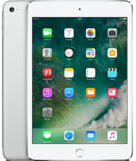 Apple iPad mini 4 Wi-Fi Cellular 128 GB Silver