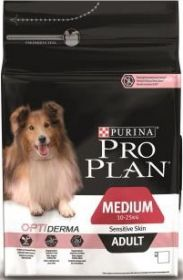 PRO PLAN ADULT SENSITIVE сухой 14 кг для собак с чувствительным пищеварением и кожей Лосось с Рисом