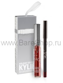 НАБОР KYLIE 2В1 LIP KIT MERRY