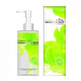 Deoproce Fresh Pore Deep Cleansing Oil 200ml - Очищающее масло на основе экстрактов виноградной косточки и плодов шиповника