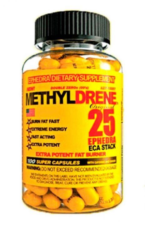 Жиросжигатель Methyldrene 25 100 капсул (Cloma Pharma)