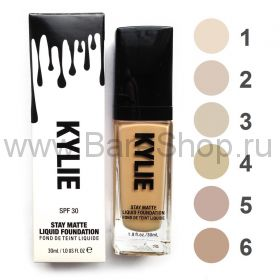KYLIE stay matte liquid foundation spf 30