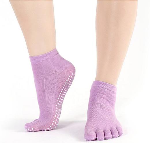 """Носочки """"5 пальчиков"""" (Одноцветные) для йоги, пилатеса и фитнеса"""