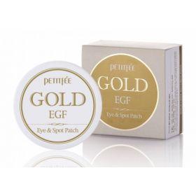 Petitfee Gold EGF Eye & Spot Patch 60шт - Гидрогелевые патчи с золотом и EGF