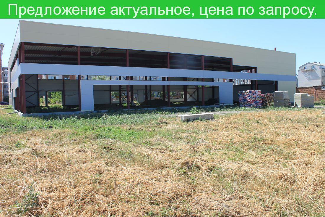 Продается земельный участок для бизнеса город Ейск ул.Западная 15