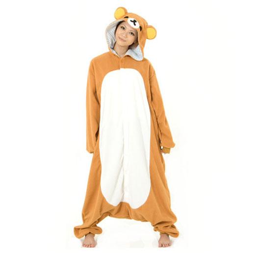 Пижама Кигуруми Медведь Рилаккума Премиум