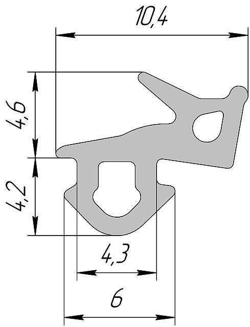 Аналог VEKA 253 T
