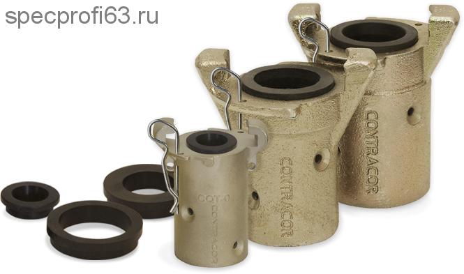 Сцепление байтное d-25, d-32 для пескоструйных шлангов