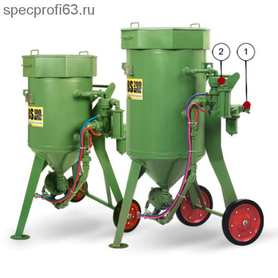 Аппарат пескоструйный CONTRACOR DВS-200 (200кг)