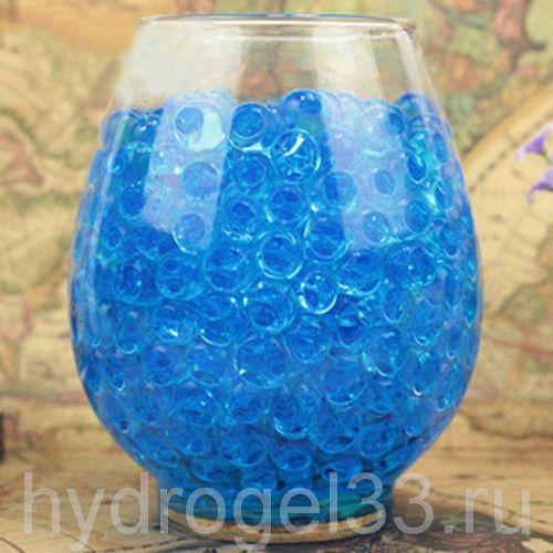 Гидрогель аквагрунт 1 см голубой (2000 шт)