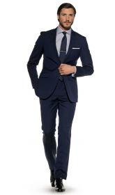 КОСТЮМ Мужская рубашка черная сатиновая T.M.Lewin приталенная Slim Fit (57623)