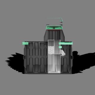 Септик «ТЕРМИТ-ТРАНСФОРМЕР» 3,0 S(рассчитан на 9-10 проживающих человек)