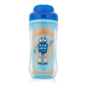 Dr.Brown's Чашка-термос 300 мл без носика (Синий Робот) (Арт. ТС01014)