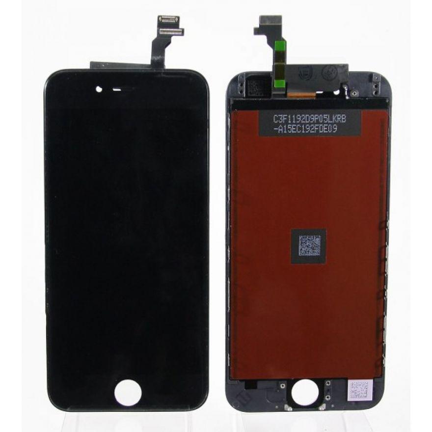 Дисплей в сборе с тачскрином (модуль) iPhone 6S в сборе Черный - AA