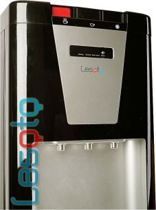 Кулер для воды LESOTO 888 L-G black-silver