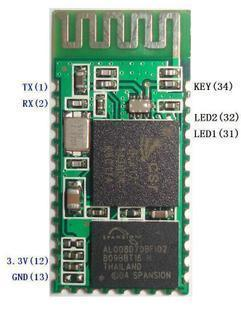 Wireless Bluetooth Transceiver Module RS232 / TTL HC-06