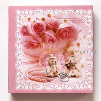 Свадебный фотоальбом с вкладышами А239