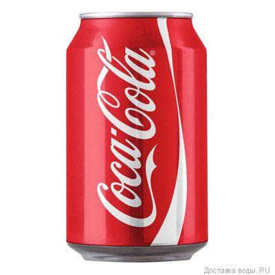 Напиток Coca-Cola газированный 0.33 л | Купить Coca-Cola в упаковке 12шт.