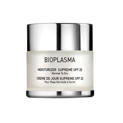 Крем увлажняющий для нормальной и сухой кожи с SPF 20 BIOPLASMA Moisturizer Supreme SPF 20
