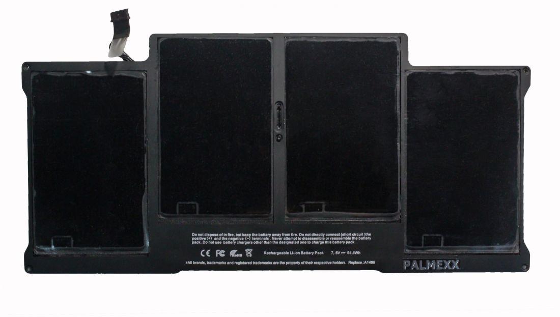 "Аккумулятор PALMEXX A1496 для ноутбука Apple Macbook Air 13,3"" (2013-2014) (7,6V-54,4Wh)"
