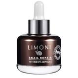LIMONI SNAIL REPAIR INTENSIVE AMPOULE 25мл - Сыворотка для лица восстанавливающая