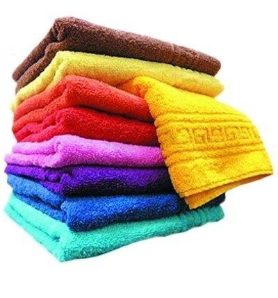 Махровое полотенце (гладкокрашеное)