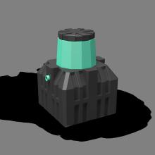 Септик-накопитель «Термит-1,2Н» 1,2 м3