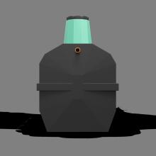 Септик-накопитель «Термит-5,5Н» 5.5 м3