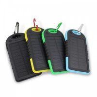 Внешний аккумулятор на солнечных батареях Solar Сharger 5000mAh