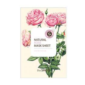 The Saem Natural Rose Mask Sheet 21ml- Маска тканевая с экстрактом розы