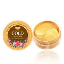 Petitfee Koelf Hydro Gel Gold Royal Jelly Eye Patch 60шт - гидрогелевые патчи маточное молочко и золото