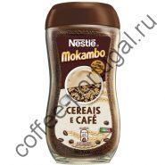 """Кофейный напиток """"Nestle Mokambo 20% кофе"""" растворимый 200 гр"""