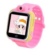 Умные детские часы Q100 с GPS трекером и камерой
