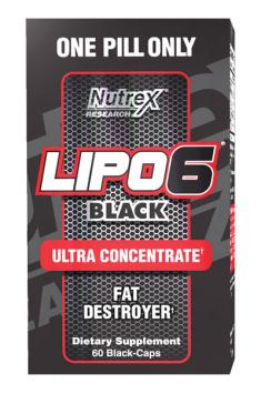 Lipo 6 Black ультра концентрат 60 капсул
