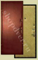 Металлические двери эконом класса