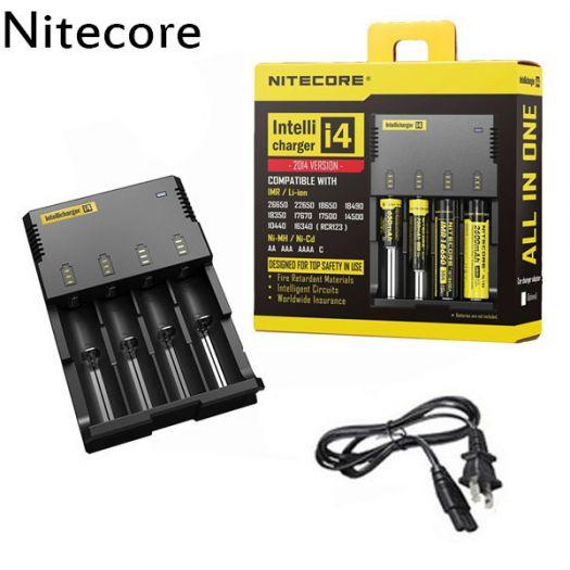 зарядное устройство Nitecore Digicharger i4