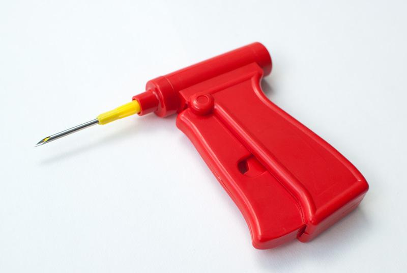 """Аппликатор для меток в иглах (""""красный пистолет"""") многоразовый"""
