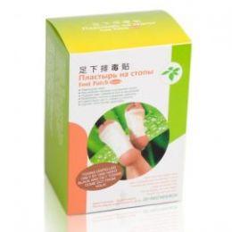 Пластырь на стопы ног для выведения токсинов Detox Foot Patch, 20 шт/уп