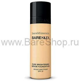 Пудра bareSkin Pure Brightening Serum SPF 20 цвет Bare Ivory 04